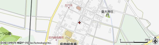 山形県東田川郡庄内町廿六木三ツ車17周辺の地図