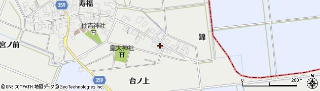 山形県酒田市門田寿福23周辺の地図