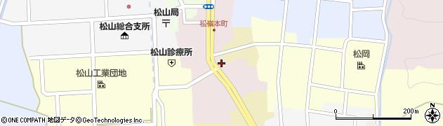 山形県酒田市本町12周辺の地図