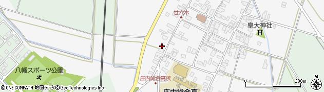 山形県東田川郡庄内町廿六木三ツ車141周辺の地図
