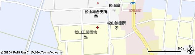 山形県酒田市西田8周辺の地図