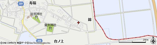 山形県酒田市門田台ノ上周辺の地図