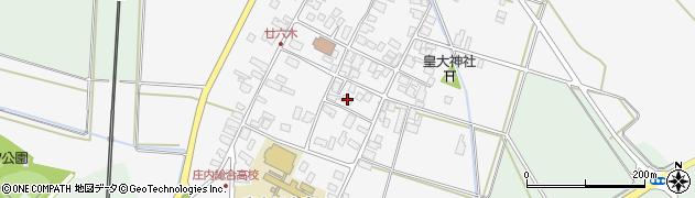 山形県東田川郡庄内町廿六木三ツ車28周辺の地図