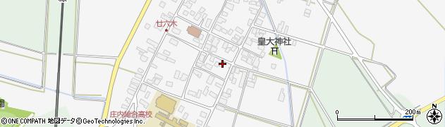 山形県東田川郡庄内町廿六木三ツ車32周辺の地図