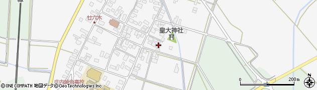 山形県東田川郡庄内町廿六木三ツ車54周辺の地図