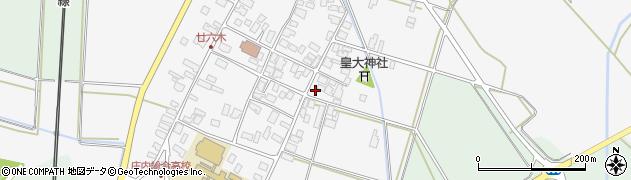 山形県東田川郡庄内町廿六木三ツ車51周辺の地図
