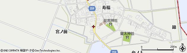 山形県酒田市門田寿福117周辺の地図