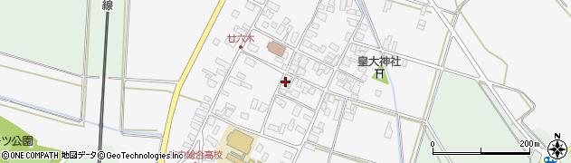 山形県東田川郡庄内町廿六木三ツ車34周辺の地図