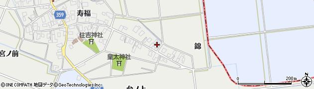 山形県酒田市門田寿福20周辺の地図