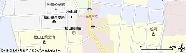 山形県酒田市本町16周辺の地図