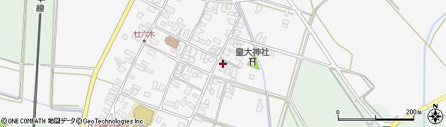 山形県東田川郡庄内町廿六木三ツ車53周辺の地図