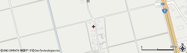 山形県酒田市広野上中村216周辺の地図