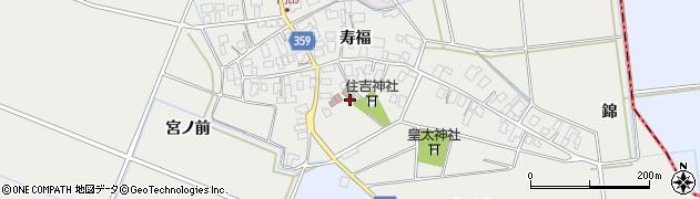 山形県酒田市門田寿福92周辺の地図