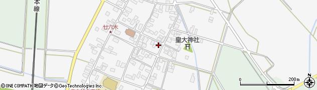 山形県東田川郡庄内町廿六木三ツ車52周辺の地図