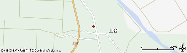 山形県最上郡金山町上台126周辺の地図