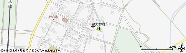山形県東田川郡庄内町廿六木三ツ車56周辺の地図