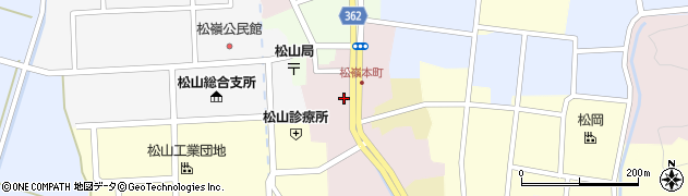 山形県酒田市本町37周辺の地図