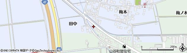 山形県東田川郡庄内町跡梅木34周辺の地図