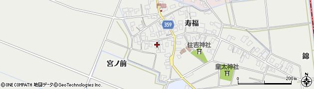 山形県酒田市門田寿福119周辺の地図