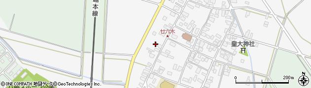 山形県東田川郡庄内町廿六木三ツ車137周辺の地図