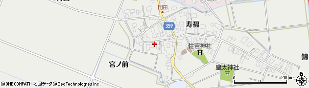 山形県酒田市門田寿福121周辺の地図