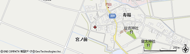 山形県酒田市門田寿福127周辺の地図