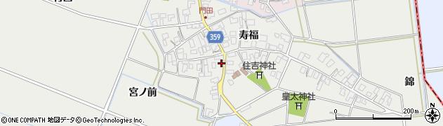 山形県酒田市門田寿福114周辺の地図