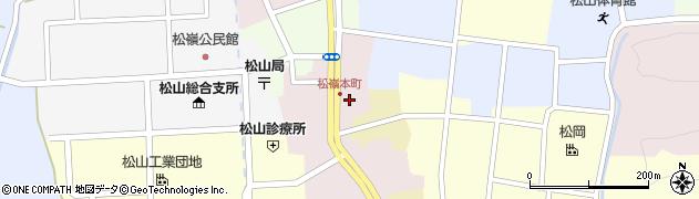 山形県酒田市本町21周辺の地図