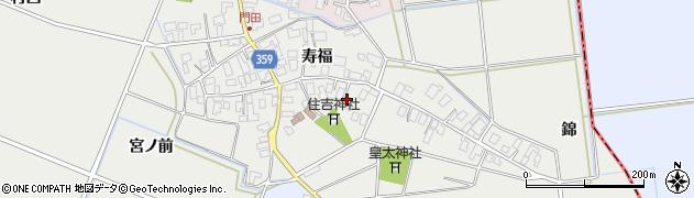 山形県酒田市門田寿福79周辺の地図