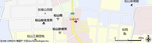 山形県酒田市本町22周辺の地図