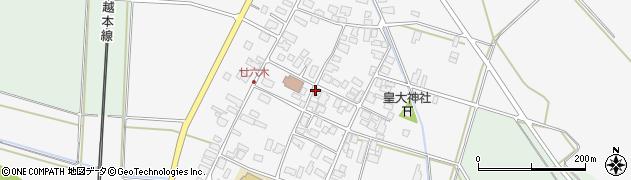 山形県東田川郡庄内町廿六木三ツ車43周辺の地図