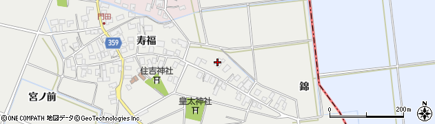 山形県酒田市門田寿福10周辺の地図