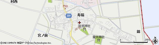 山形県酒田市門田寿福90周辺の地図