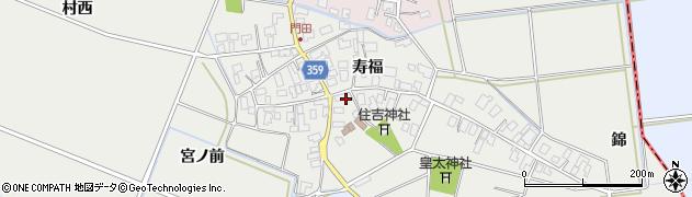 山形県酒田市門田寿福107周辺の地図