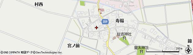 山形県酒田市門田寿福135周辺の地図
