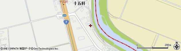 山形県酒田市広野十五軒42周辺の地図