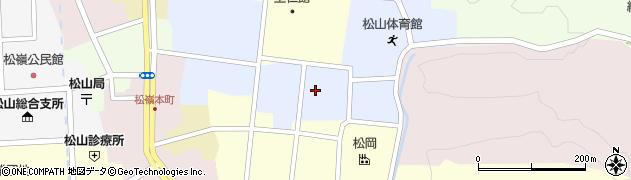 山形県酒田市内町22周辺の地図