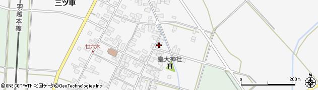 山形県東田川郡庄内町廿六木三ツ車60周辺の地図