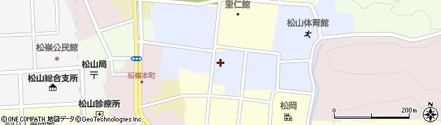 山形県酒田市内町25周辺の地図