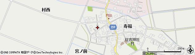 山形県酒田市門田寿福131周辺の地図