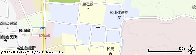 山形県酒田市内町20周辺の地図