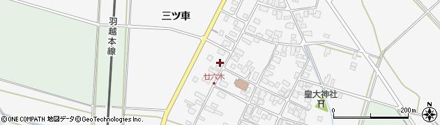 山形県東田川郡庄内町廿六木三ツ車132周辺の地図