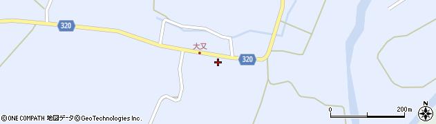 山形県最上郡金山町山崎三枝1354周辺の地図