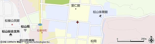 山形県酒田市内町24周辺の地図