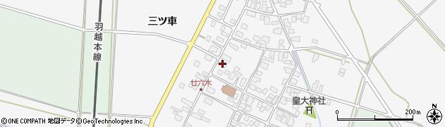 山形県東田川郡庄内町廿六木三ツ車75周辺の地図