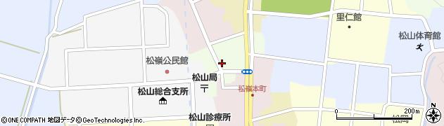 山形県酒田市肴町16周辺の地図