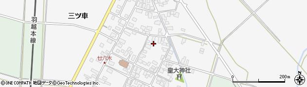 山形県東田川郡庄内町廿六木三ツ車80周辺の地図
