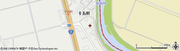 山形県酒田市広野十五軒55周辺の地図