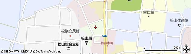 山形県酒田市肴町周辺の地図