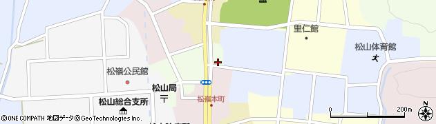 山形県酒田市肴町1周辺の地図